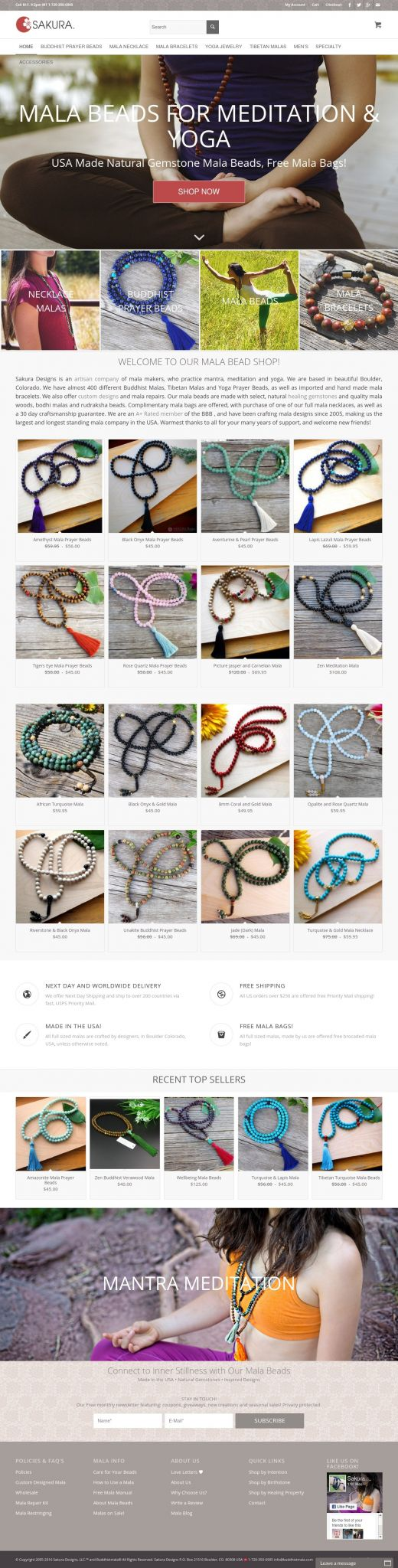 new website for mala beads