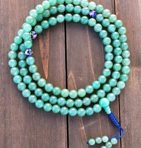 Aventurine Mala Prayer Bead