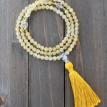 Citrine and Peridot Mala