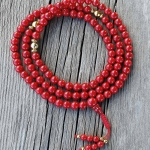 Coral Mala Necklace