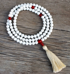 Shell Mother of Pearl Mala