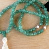 Aventurine & Pearl Prayer Beads