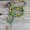 Jade and Turquoise Mala Beads