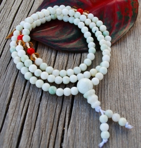 Mini Mala-Jadeite Color