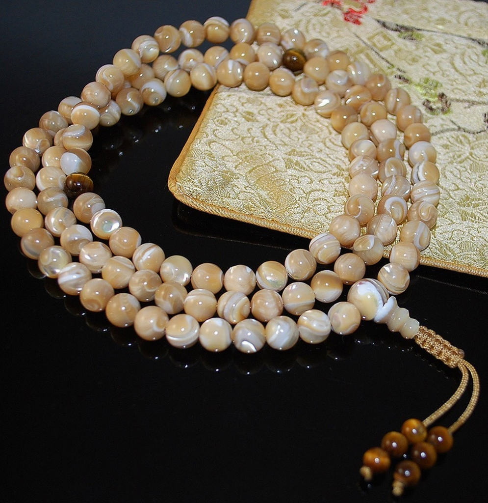 Natural Mother of Pearl & Tiger Eye