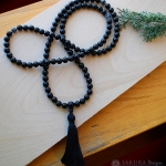 Black Onyx Mala Prayer Beads