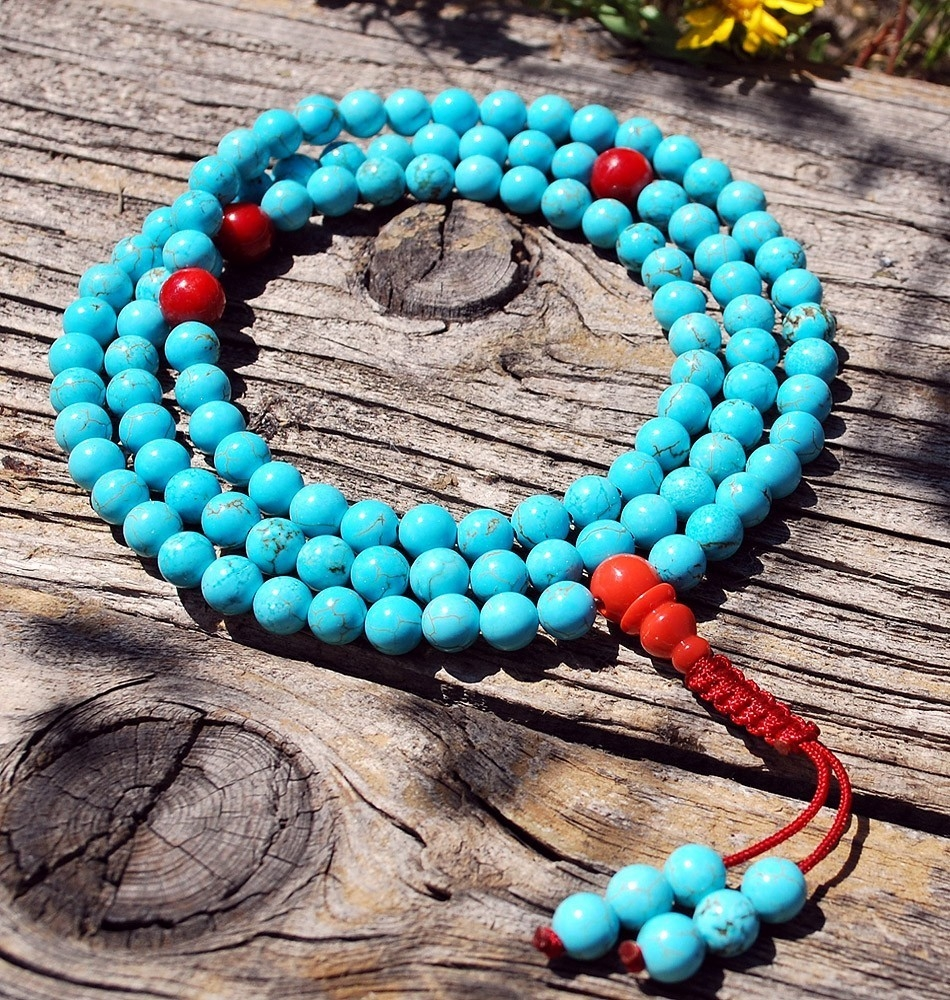 turquoise coral mala1 2 1