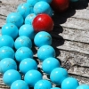 turquoise coral mala2