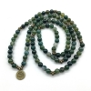 stretch mala moss agate