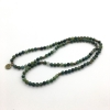 moss agate stretch mala prayer beads