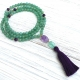 Aventurine & Amethyst Prayer Beads