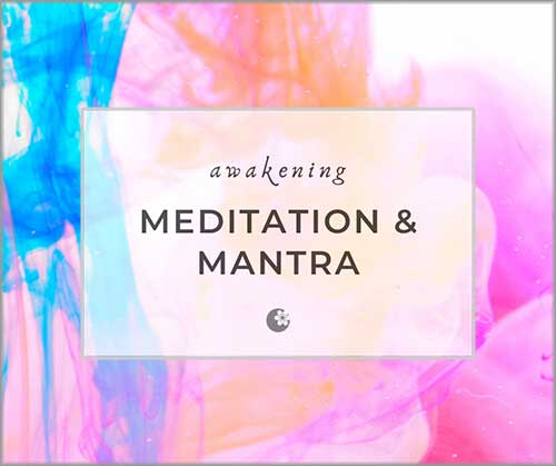 meditation and mantra
