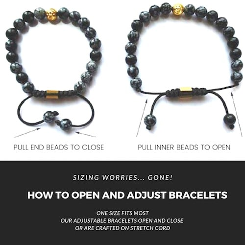 how to open mala bracelet